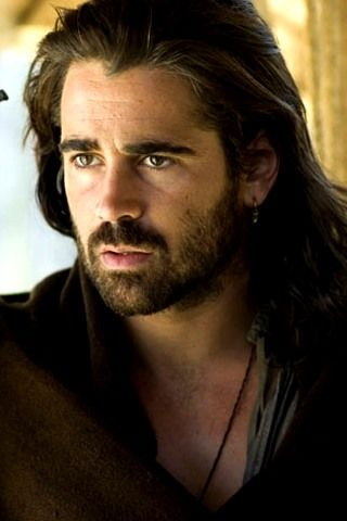 Colin Farrell you know he smells like whiskey and cigarettes. I'm okay with that