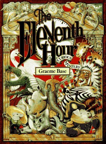 Bestseller Books Online The Eleventh Hour: A Curious Mystery Graeme Base $10.36  - http://www.ebooknetworking.net/books_detail-0810932652.html