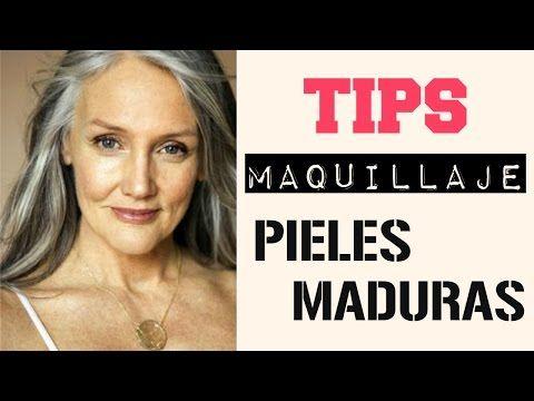 Maquillaje para piel madura sencillo y facil (ayuda a mami) - YouTube