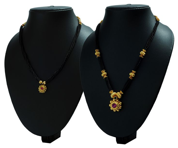 Buy Womens Trendz Combo Pack of 2 Mangalsutra MS12-15 at lowest price