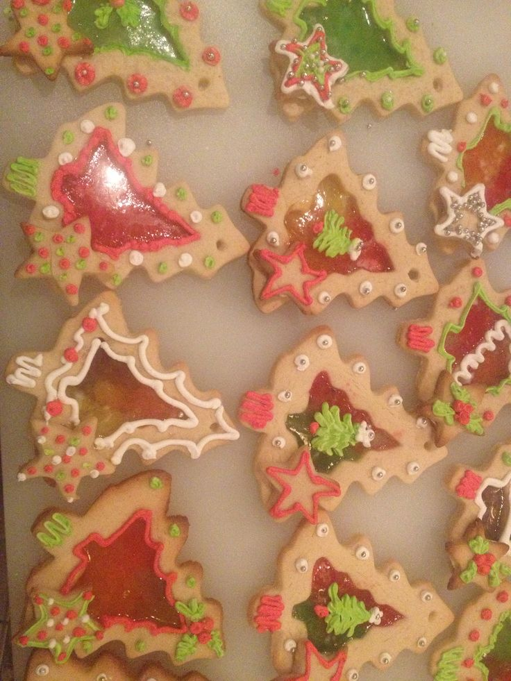 Stained glass cookies !