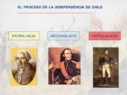 las 3 etapas de la independencia  patria vieja  reconquista patria nueva