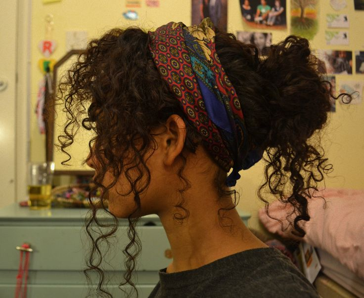 Tremendous 1000 Ideas About Bandana Curls On Pinterest Rag Curls Curls Hairstyles For Men Maxibearus