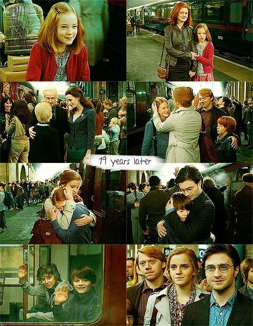 I hated that epilogue with all my heart. In fact, every time a re-read HP7, i don't read that final chapter because I hate it too much...