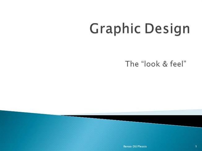Graphic Design by Renso du Plessis (1) by renso157639 via authorSTREAM