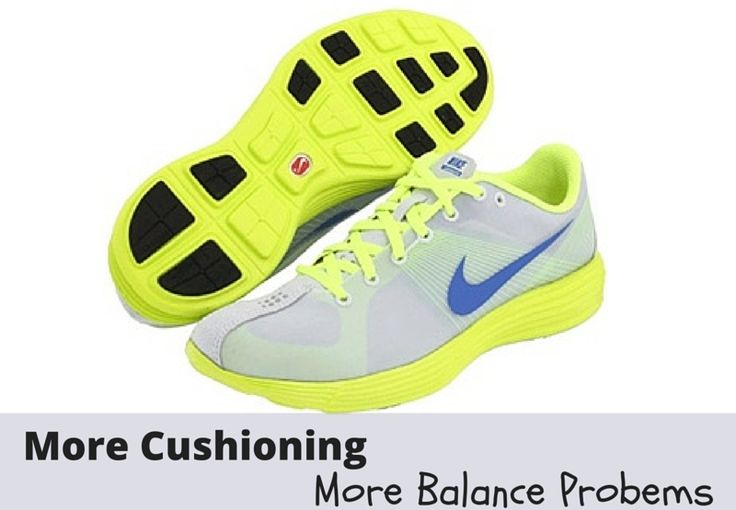 Running Shoes for Support Actually Impairs Balance