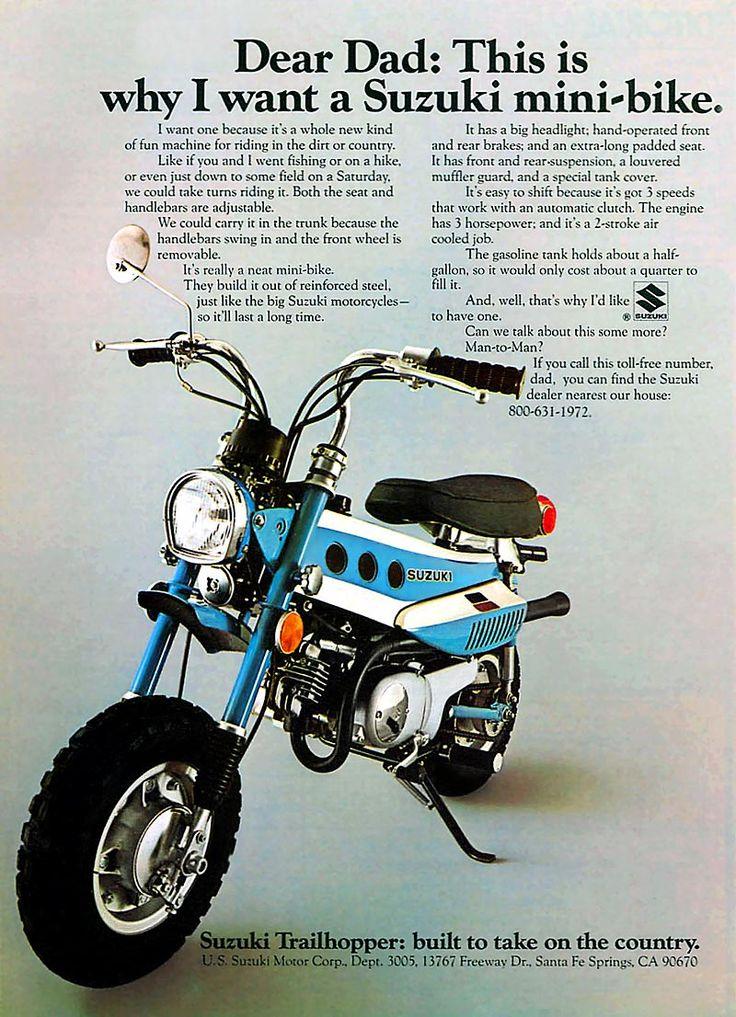 1972 MT-50 J Trailhopper magazine ad