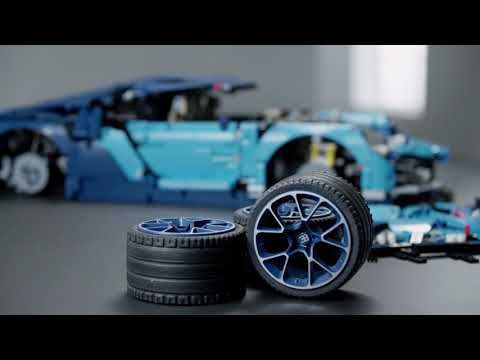 Bugatti Chiron Lego Technic Has Introduced And It Is Made Of 359