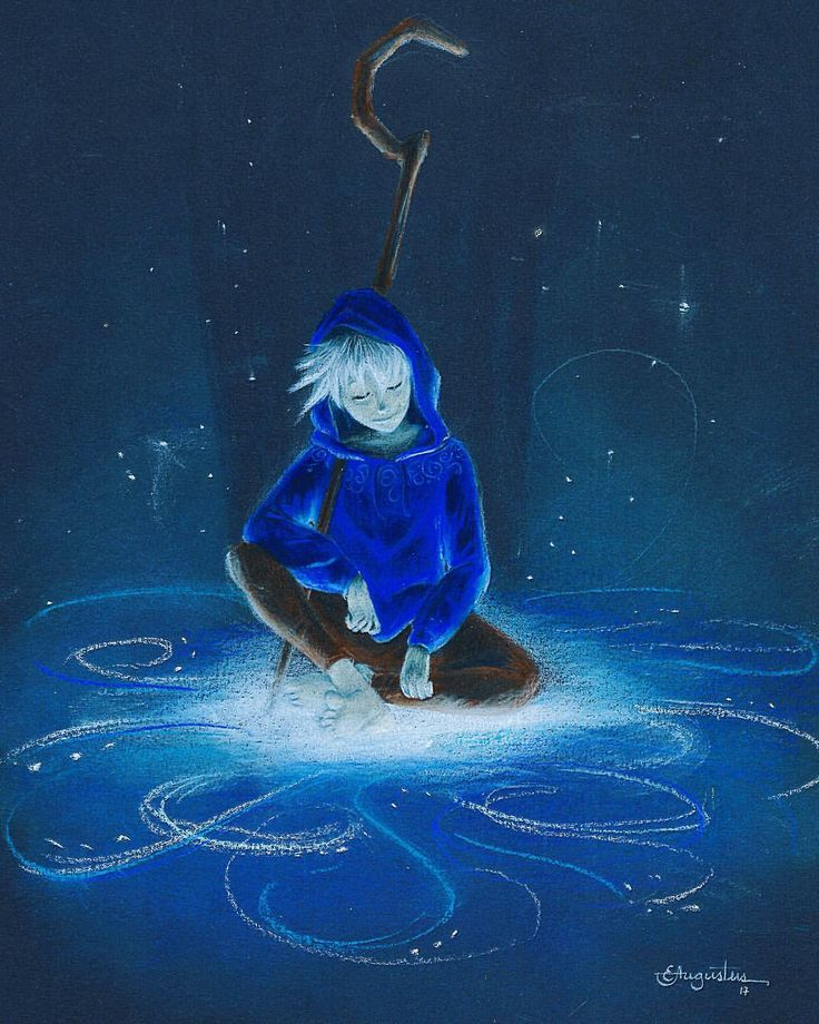 Jack Frost drawing by Imaginante_artes