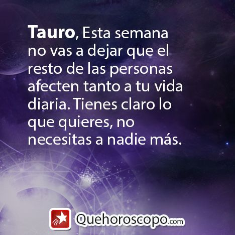 #Horoscopo #Tauro #Amor #Trabajo #Astros #Predicciones #Futuro #Horoscope #Astrology #Love #Jobs #Astrology #Future http://www.quehoroscopo.com/horoscopodehoy/tauro.html?utm_source=facebooklink&utm_campaign=semanal&utm_medium=facebook