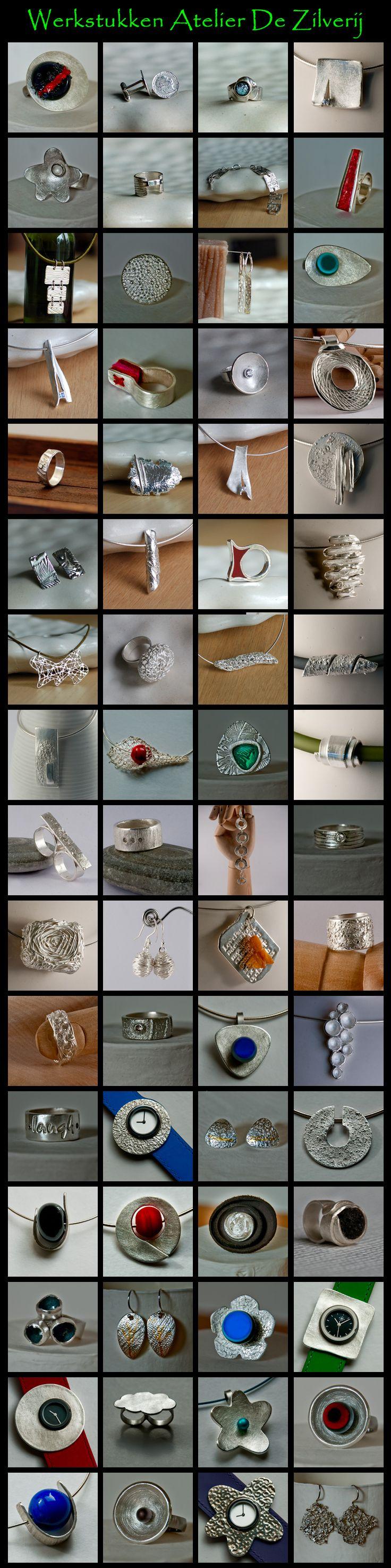 Ik wil het rode horloge maken ...... De Zilverij - Workshops Art Clay Silver - Zilverklei
