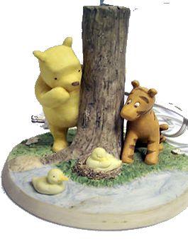 nursery winnie pooh baby bedside lamp