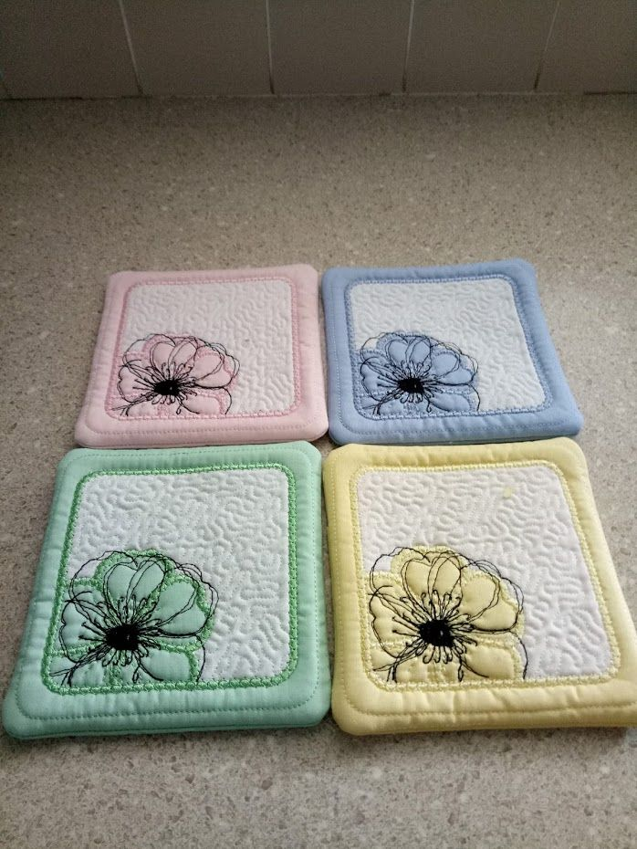 ITH coasters pattern from Kreative Kiwi
