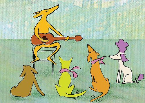 Dog serenade ignaciobarcelo.com