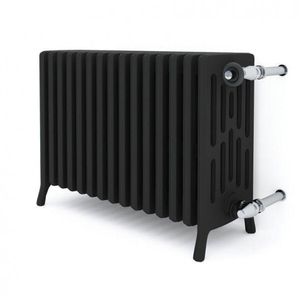 Classic 6 traditional old style iron radiator / grzejnik pokojowy żeliwny retro