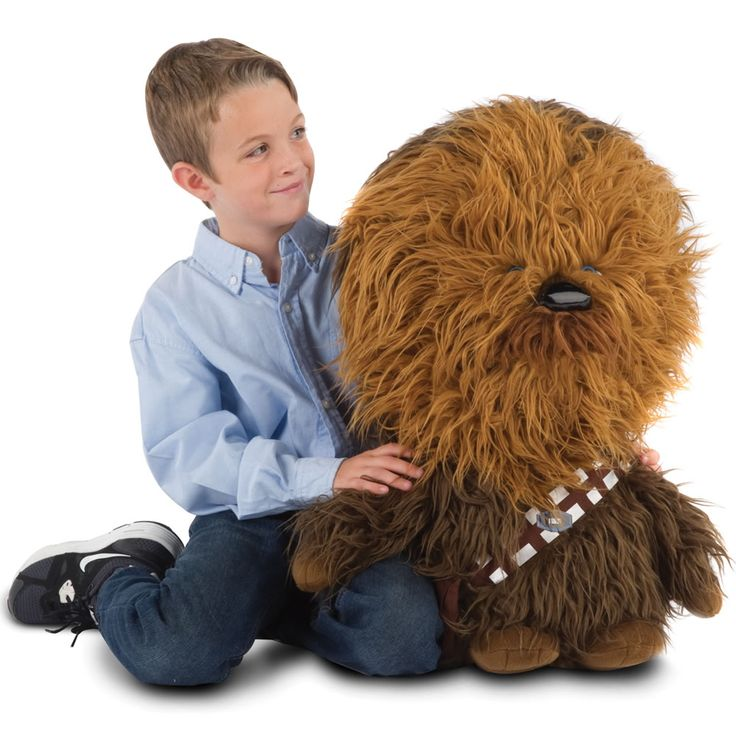 The Mini Talking Chewie - Hammacher Schlemmer #StarWars