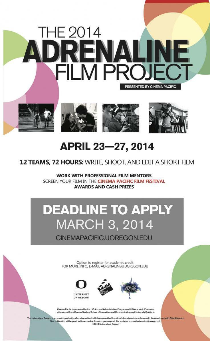 Adrenaline Film Project | Cinema Pacific Film Festival - University of Oregon