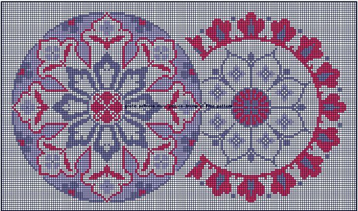 06 free DMC cross stitch patterns gratis borduurpatronen kruissteekpatronen