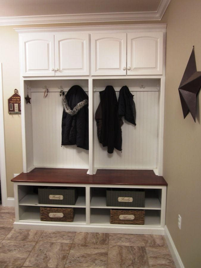 Great Mudroom Bench