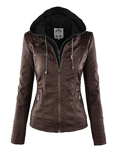 LL Womens Removable Hoodie Motorcyle Jacket L COFFEE Lock and Love http://www.amazon.com/dp/B00O5D5G2K/ref=cm_sw_r_pi_dp_Y2oJvb0CEAFF4