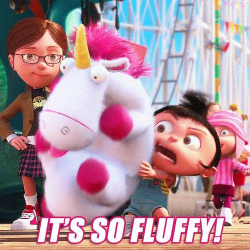 It's so fluffy!