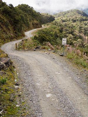 North Yungas Road | Atlas Obscura