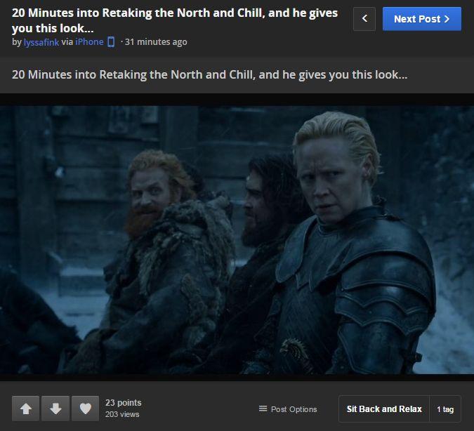 Last week on Imgur of Thrones: - Imgur