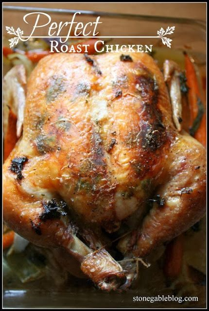 How to make the perfect roast chicken... or two. Much easier than you think!