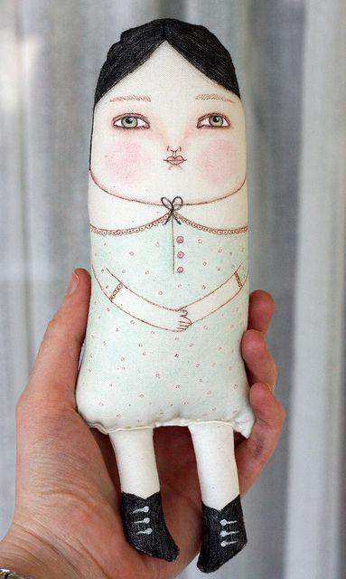 New Prim Folk Art Doll | Flickr - Photo Sharing!