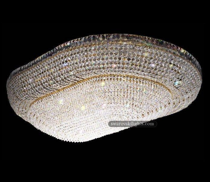 Crystal Flush Mounts Zhongshan Sunwe Lighting Co Ltd We Specialize In Making Swarovski