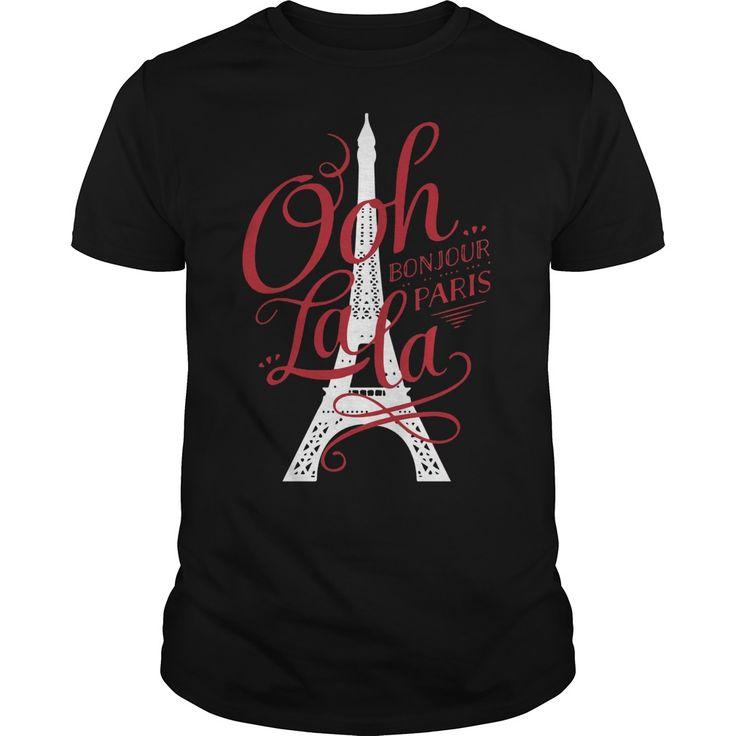 Ooh la la Bonjour Paris Shirt, Hoodie, Tank top