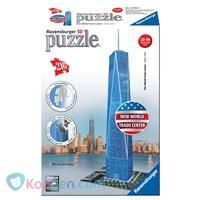 RAVENSBURGER Puzzel One World Trade Center 3d: 216 stukjes -  Koppen.com