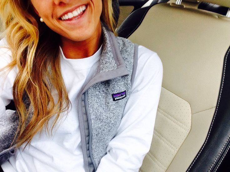 Heather gray Patagonia vest