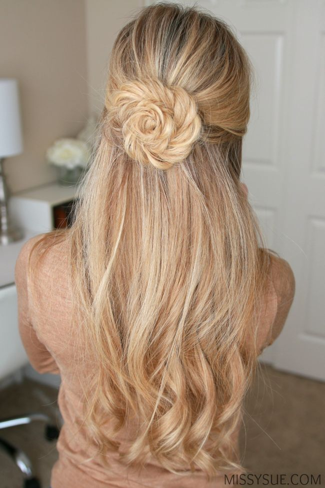 hair half up styles 1000 ideas about braided half updo on half 4495