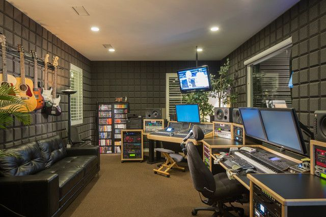 cool 15 Home Music Rooms and Studios