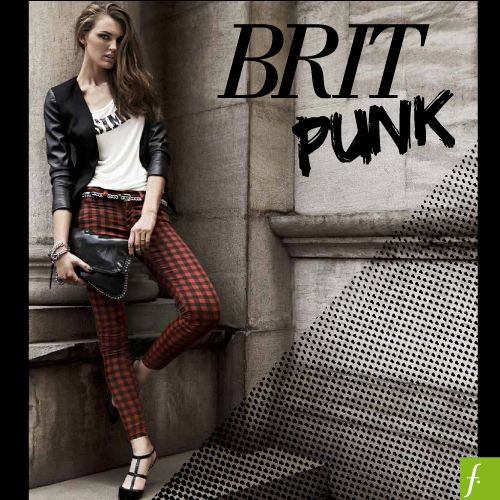 Una tendencia rebelde pero femenina, así es Brit Punk.