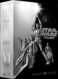 Star Wars Trilogy DVD series. One of the greatest movies ever made in our history.