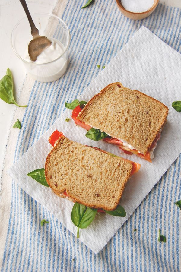 Heirloom Tomato, Basil, Mayo Sandwiches | Sandwiches et al. | Pintere ...