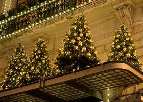 kerstbomen, pinned by Ton van der Veer