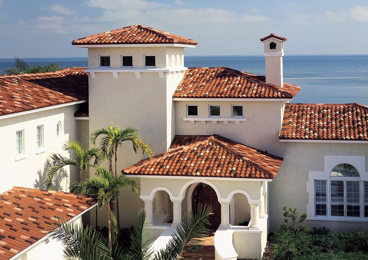 15 best trinidad exterior paint images on pinterest for Mediterranean roof styles