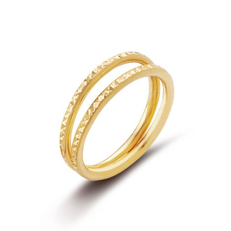 GOLD TWIN RING
