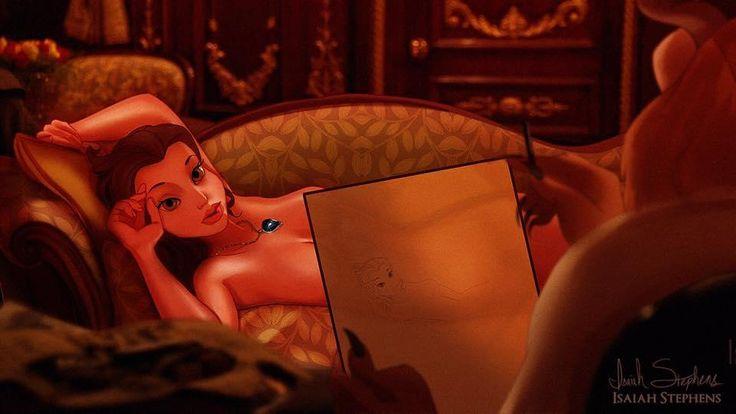 La Belle dans 13 personnages Disney imaginés sur le Titanic ! Quels sont les plus réussis ?