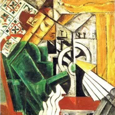 """Nadeshda Udaltsova, """"Costurera"""", 1912-1913. Galería Estatal Tretiakov, Moscú. #ProgramaNosotras"""