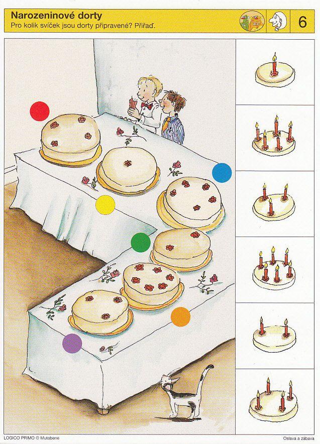 * Visuele discriminatie: taart!