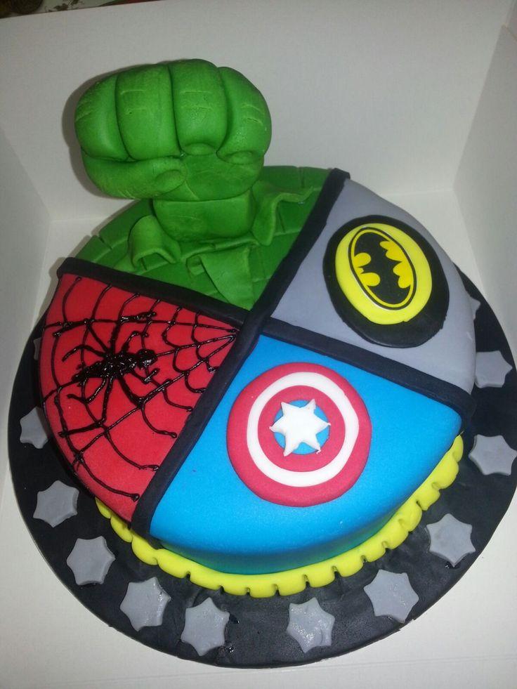17 Best Ideas About Marvel Birthday Cake On Pinterest