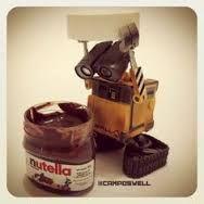 WALL-E eat nutella too