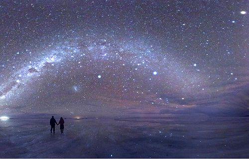 Salt Flats in Bolivia Salar de Uyuni, Bolivia