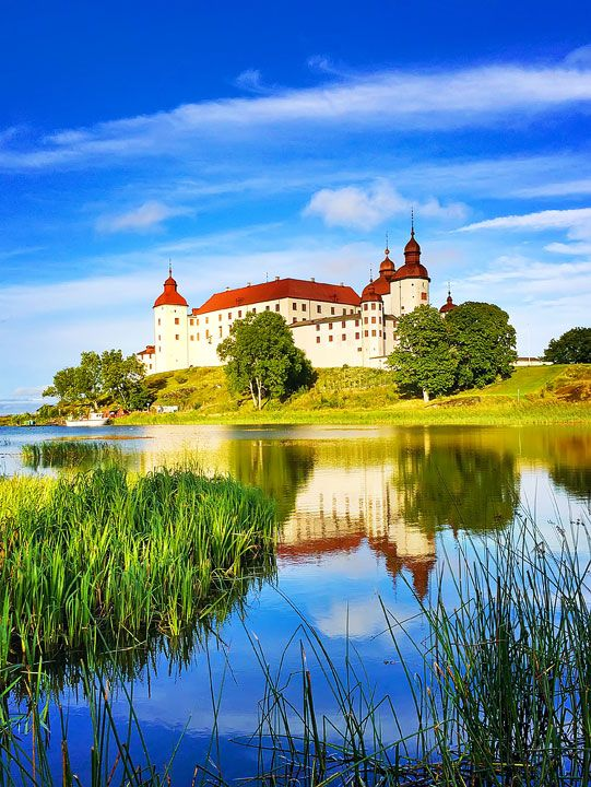 "A Night at Läckö Castle - ""The castle is nestled on the shores of Vänern, the largest lake in Sweden and the third largest lake in Europe."""