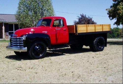 1949 Chevy 6400 Stake Side, 2012 restoration, in the same family for 50 years. http://www.cacars.com/Car//Chevy/6400/Stake_Siide/1949_Chevy_6400_for_sale_154405.html#