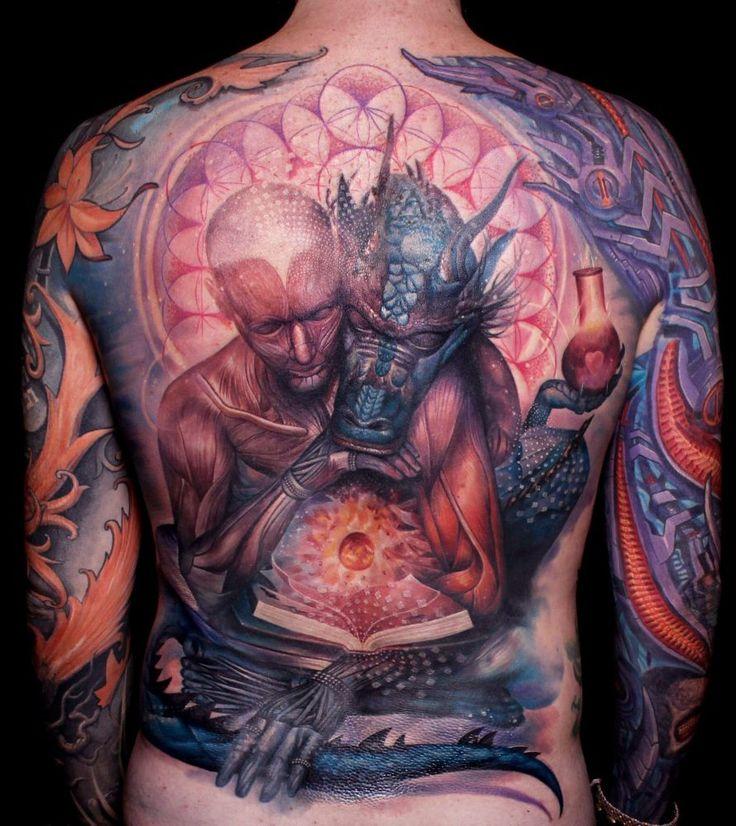 niesamowite tatuaże ze smokami